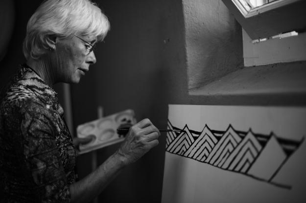 Dame Robin White Artist