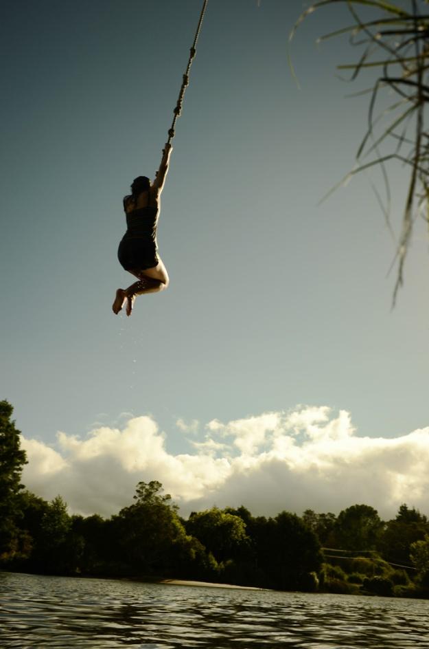 Rope swing Tauranga